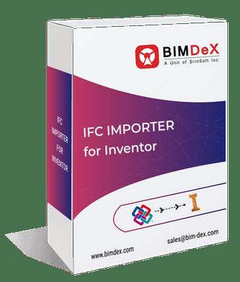 Invent A/S   BIMDeX   IFC Importer for Inventor