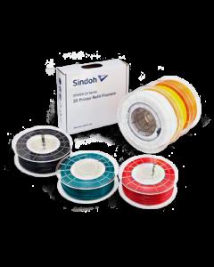 Sindoh Flex | 3D Print | FDM | FFF | Invent A/S | PLA | ABS | PVA |