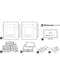 MakerBot Sketch 3D Classroom |3D Print | PLA | Tough | Invent A/S |
